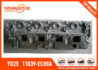 Cabeça de cilindro 2.5DDTI de Nissan Navara YD25 DOHC 16V 2005 - 11039 - EC00A